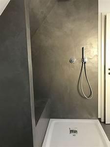 Fugenlose Wandverkleidung Bad : carameo mineralischer putz f r fugenlose b der und ~ Michelbontemps.com Haus und Dekorationen