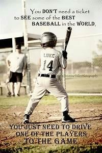 Little League Baseball Quotes Inspirational  Quotesgram