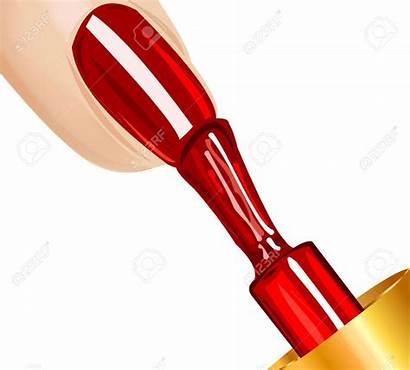 Nail Clipart Polish Fingernail Nails Vector Cliparts
