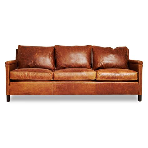 leather bed settee burnt orange leather sofa used rustic brown leather
