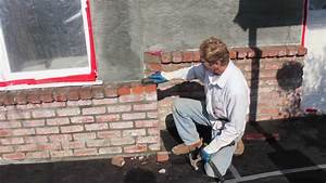 Stucco brick walls - YouTube