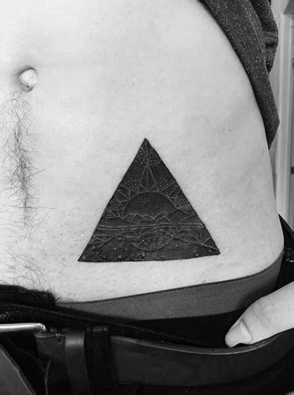 90 Triangle Tattoo Designs For Men - Manly Ink Ideas