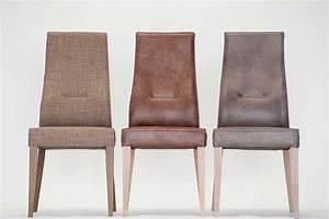 Chaise Salle A Manger Cuir : chaise en cuir marron enomia 4596 ~ Teatrodelosmanantiales.com Idées de Décoration