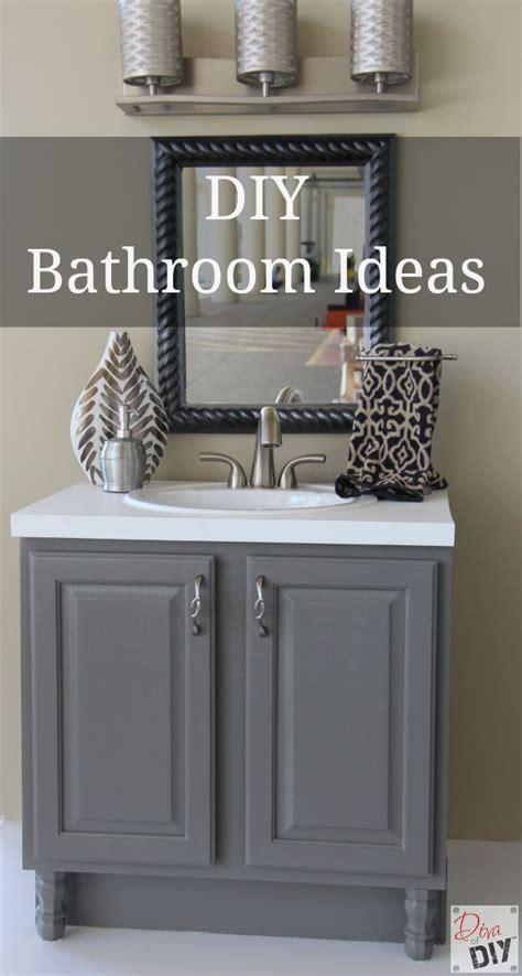 diy bathroom ideas   quick  easy  diva  diy