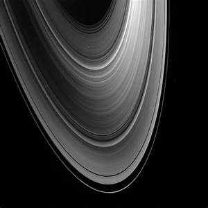 Saturn's Rings Formed from Large Moon's Destruction ...