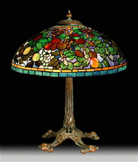 Tiffany Reproduction Lamp Bases by The 20th Century Lighting Co Reproduction Tiffany Style
