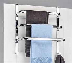 Handtuchhalter Fürs Bad : t r handtuchhalter aus metall zum einh ngen an den real ~ Michelbontemps.com Haus und Dekorationen