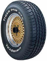uniroyal tiger paw touring passenger car tires from d and With uniroyal white letter tires