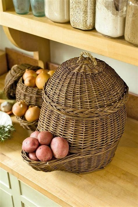 kitchen potato storage 25 insanely clever storage solutions for fruits and vegetables 5427