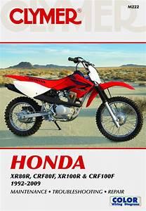Honda Xr  U0026 Crf Motorcycle  1992