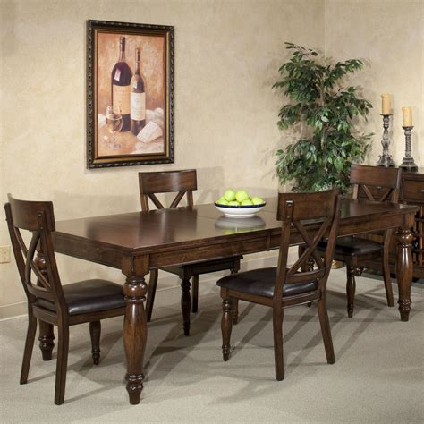 intercon kingston five table and chair set wayside