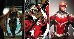 Avengers, Every, Falcon, Costume, Ranked
