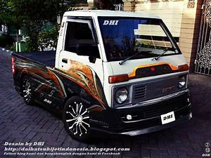 Daihatsu Hijet  Hijet Pick Up Modif