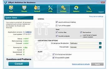 Zillya! Antivirus Definition Updates screenshot #1