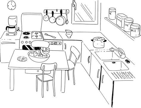 dessin evier cuisine 79 dessins de coloriage cuisine à imprimer sur laguerche