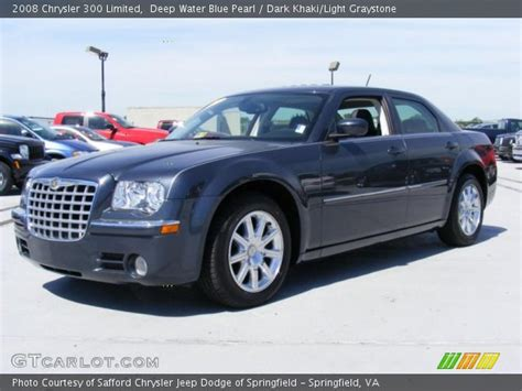 2008 Chrysler 300 Limited by Water Blue Pearl 2008 Chrysler 300 Limited