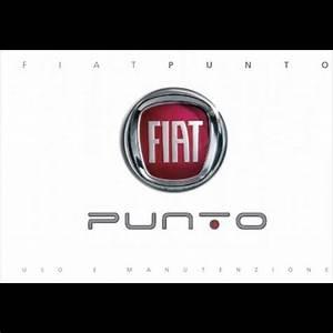 Manuale Uso Manutenzione  Libretto Istruzioni Fiat Punto