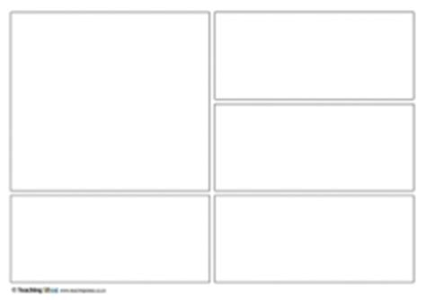 comic templates teaching ideas