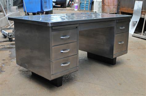 metal desk for exposed metal for vintage steelcase tanker desk