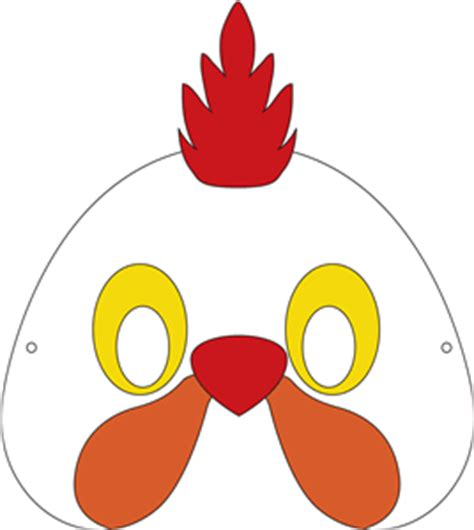 view design  chicken mask projects