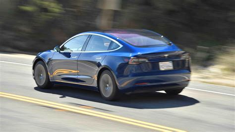 tesla model  uk review car magazine
