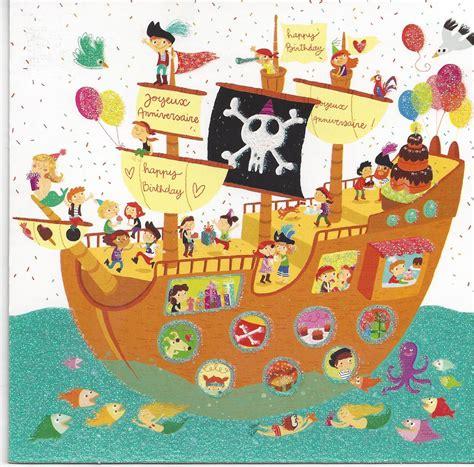 cuisine garcon carte bon anniversaire pirate nanaryuliaortega
