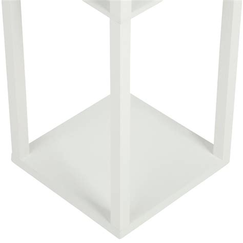 Etagere Floor L With Shelves by Simple Designs 63 3 In Etagere White Floor L Organizer