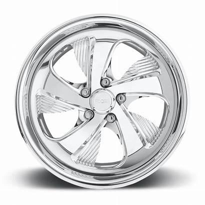 Polished Bel F213 Air Lug Foose Wheels