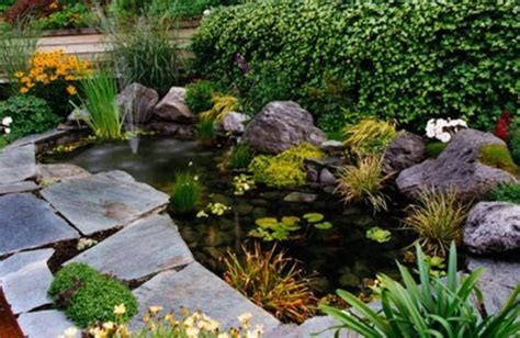 garden pond design tips on how to make a healthy fish pond design bookmark 13604