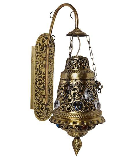 fos lighting antique finish moroccan brass wall light