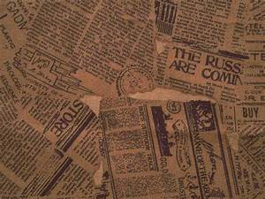 yellow old newspapers, texture newspapers, background ...