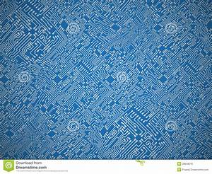 Circuit Board Vector Background Stock Vector