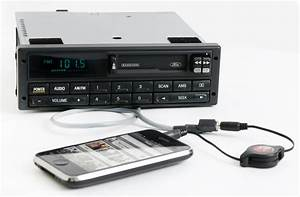 Ford Mustang 1994-00 Radio AM FM Cassette Player w Aux on Pigtail F7ZF-19B132-BA - 1 Factory Radio