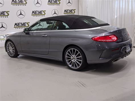 This c300 cabriolet variant comes with an engine putting out and of max power and max torque respectively. Certified Pre-Owned 2017 Mercedes-Benz C-Class C 300 RWD Convertible