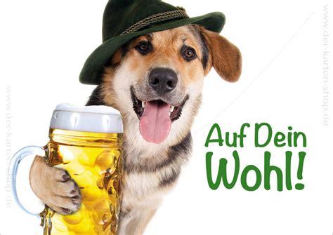 doppelkarte geburtstagskarte glueckwunschkarte schaeferhund