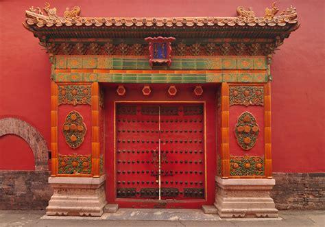Red Chinese Doors  Sandra Espinet. Weather Tite Windows. Dining Room Drapes. Rustic Wall Art. Architectural Floor Lamp. Dream Shower. Nursery Chandelier. Asian Room Dividers. Whitewash Bathroom Vanity