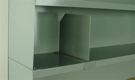stackbin sliding divider  raised shelf