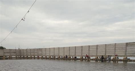 tempat mancing ikan bandeng gratis  marunda jakarta