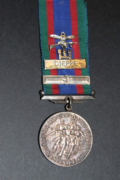 awards and decorations canada dieppe bar on canadian voluntary service medal