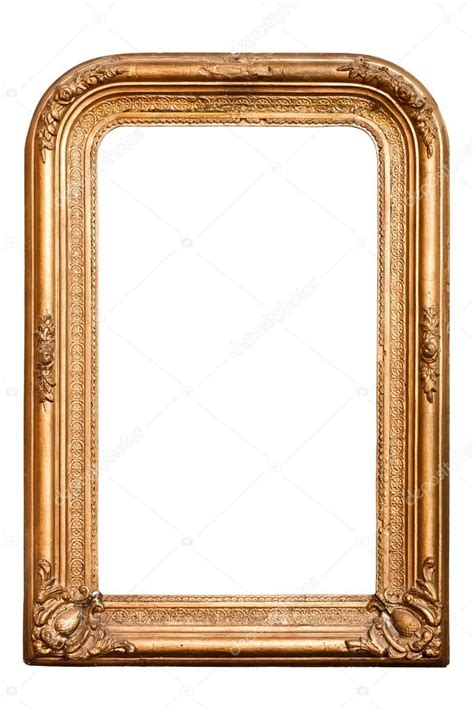cadre ancien dor 233 r 233 tro style baroque vertical photo 19345201