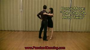 Cha Cha Dance Steps - The Side Basic Step