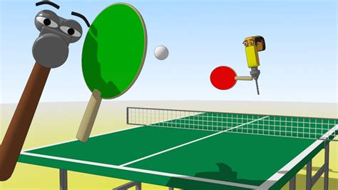 table tennis for kids funny tools for kids ep 16 let s play table tennis