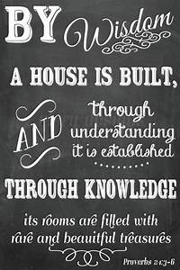 I've been s... Bible Housing Quotes