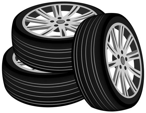 Car Parts Vector Transparent Library Black And White