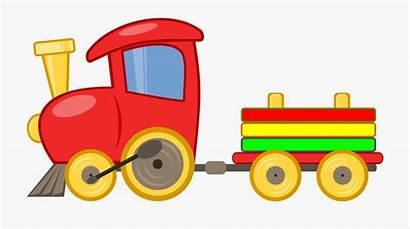 Train Toy Clipart Clip Toys Cartoon Transparent