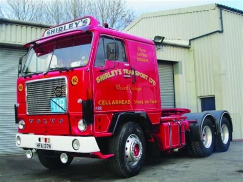 old volvo trucks commercialmotor com ever fancied owning a classic truck