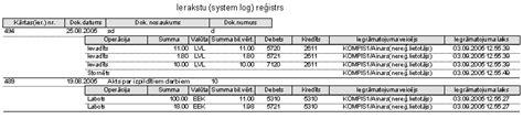 Ieraksta (log) reģistrs