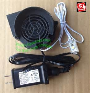 gemmy replacement 5a fan with 12v 67a adapter