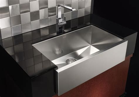 modern kitchen sinks images blanco precision super single bowl with apron