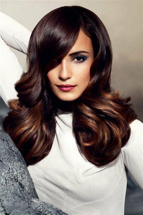 ideas  lush  glossy brunette hairstyles
